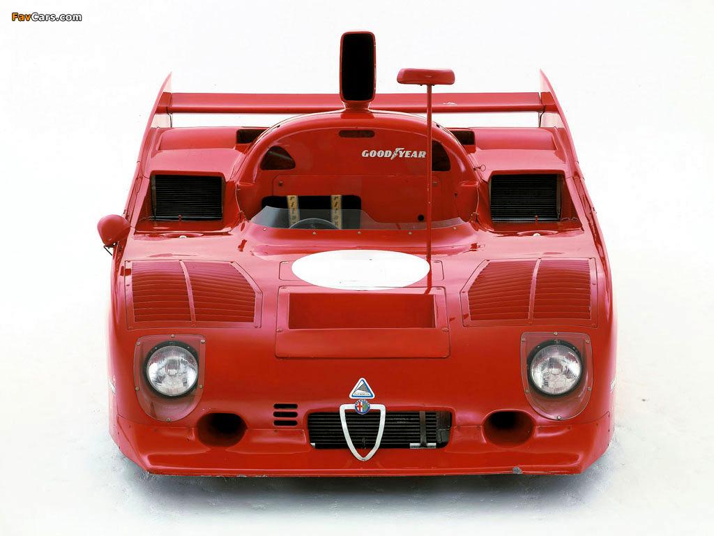 Alfa Romeo Tipo 33TT12 (1973–1975) wallpapers (1024 x 768)