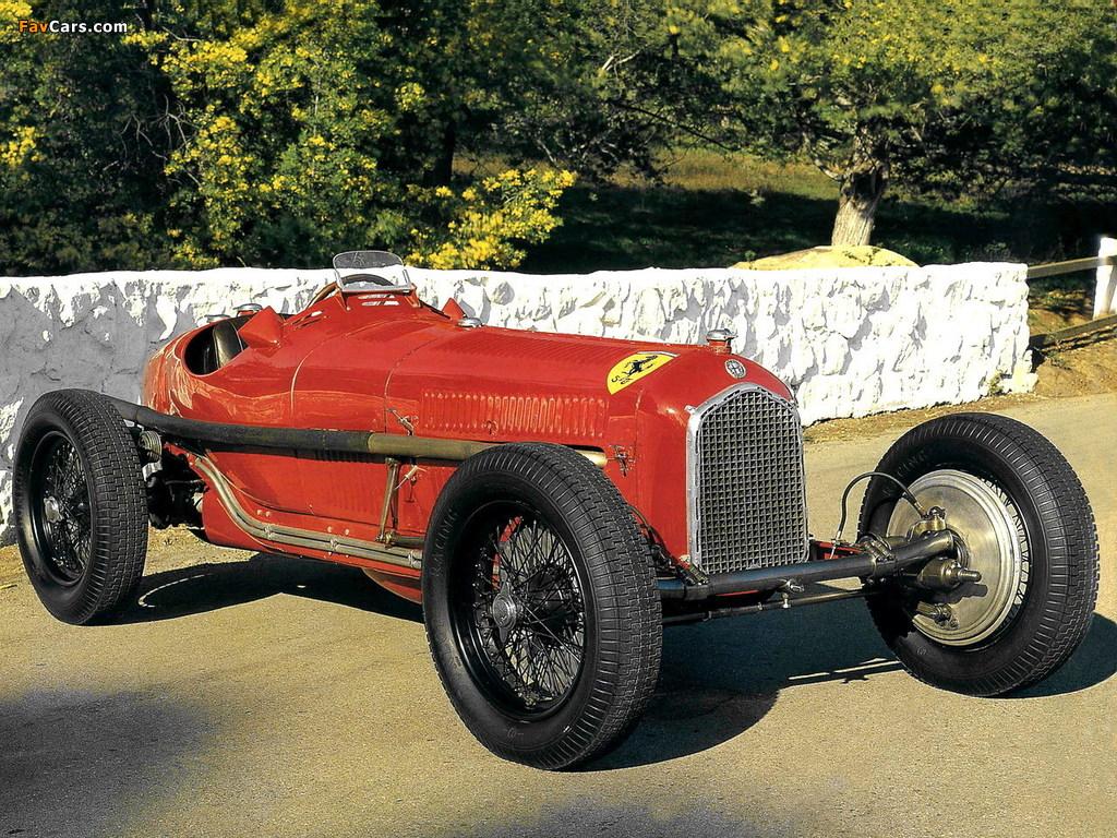 Alfa Romeo Tipo B P3 (1932–1935) wallpapers (1024 x 768)
