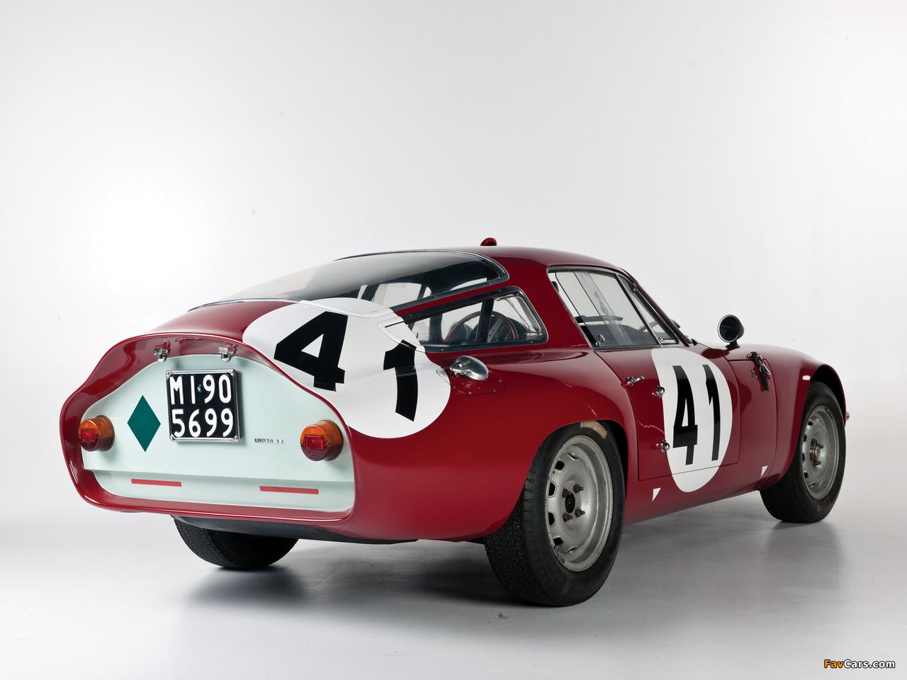 Alfa Romeo Giulia TZ 105 (1963–1967) pictures (1280 x 960)