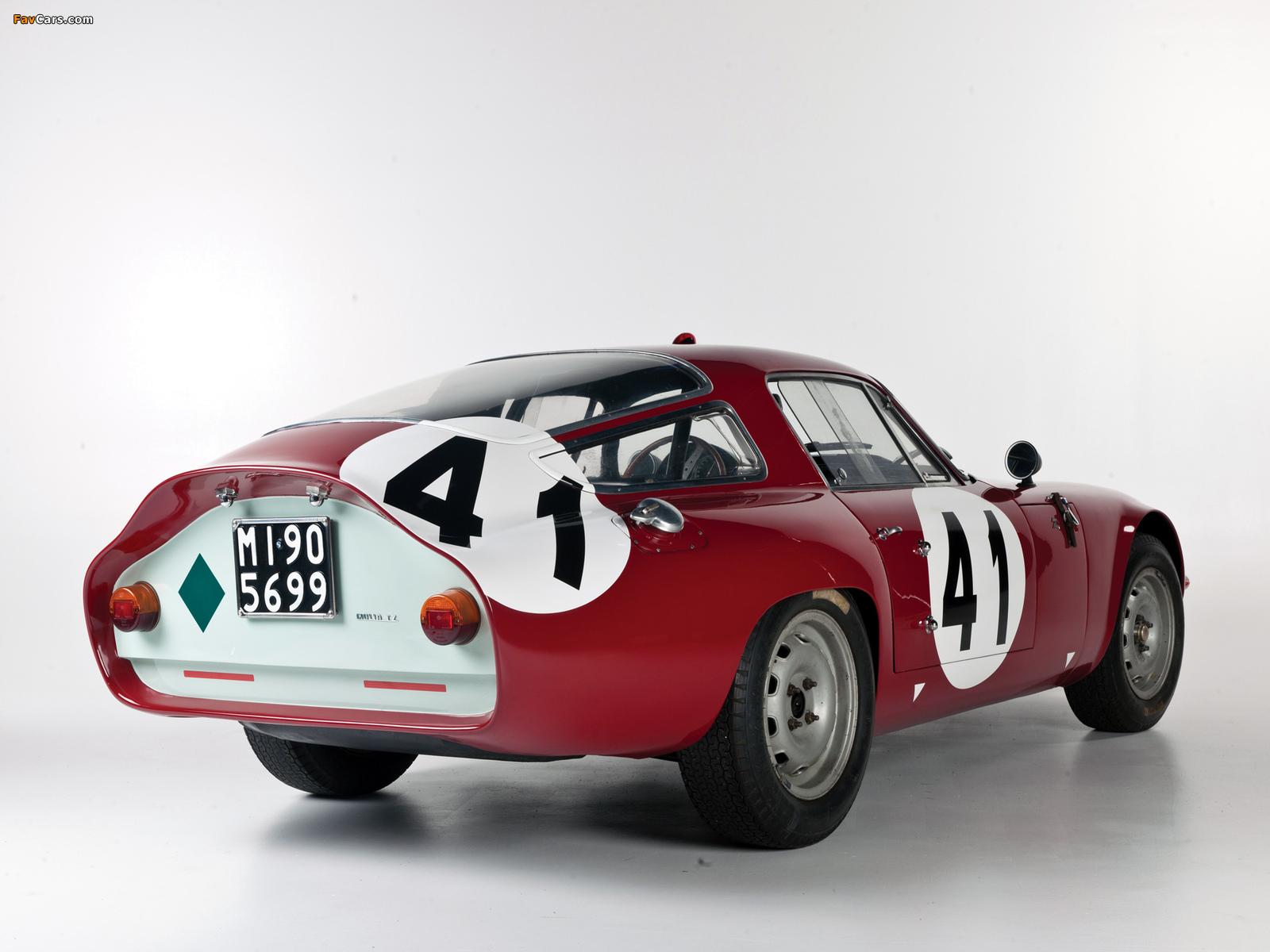 Alfa Romeo Giulia TZ 105 (1963–1967) pictures (1600 x 1200)