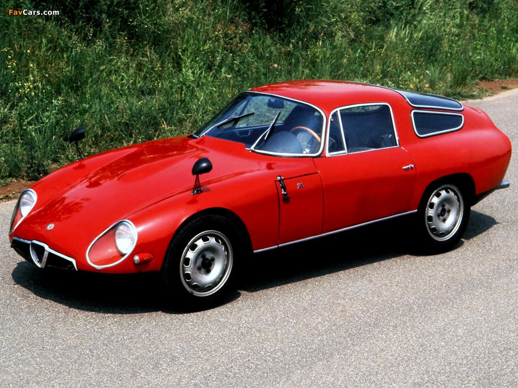 Alfa Romeo Giulia TZ 105 (1963–1967) images (1024x768)