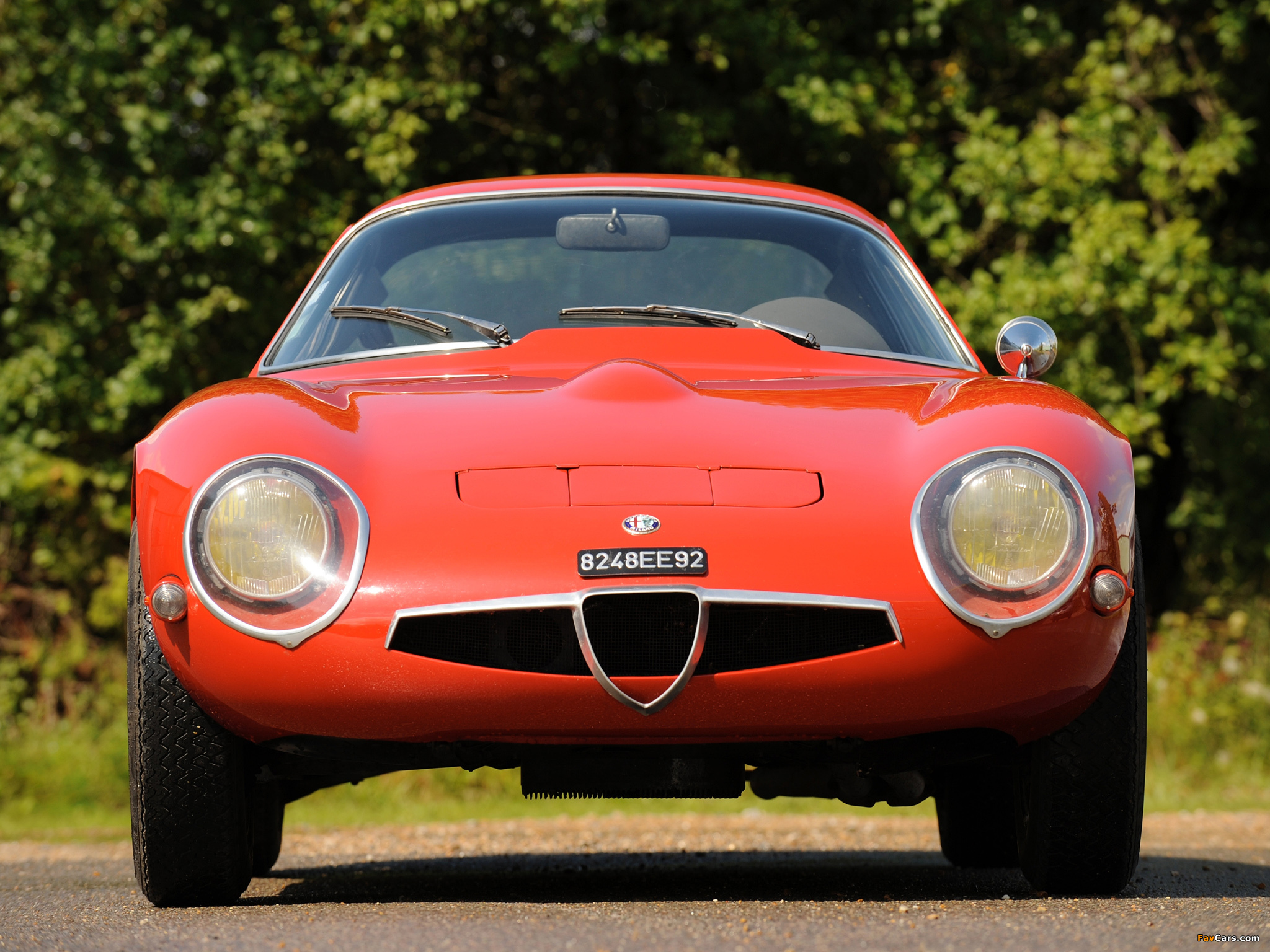 Alfa Romeo Giulia TZ 105 (1963–1967) wallpapers (2048 x 1536)