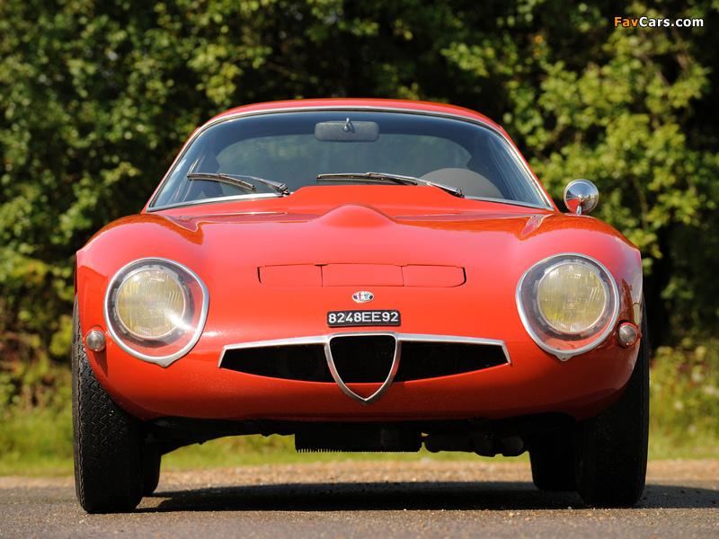 Alfa Romeo Giulia TZ 105 (1963–1967) wallpapers (800 x 600)