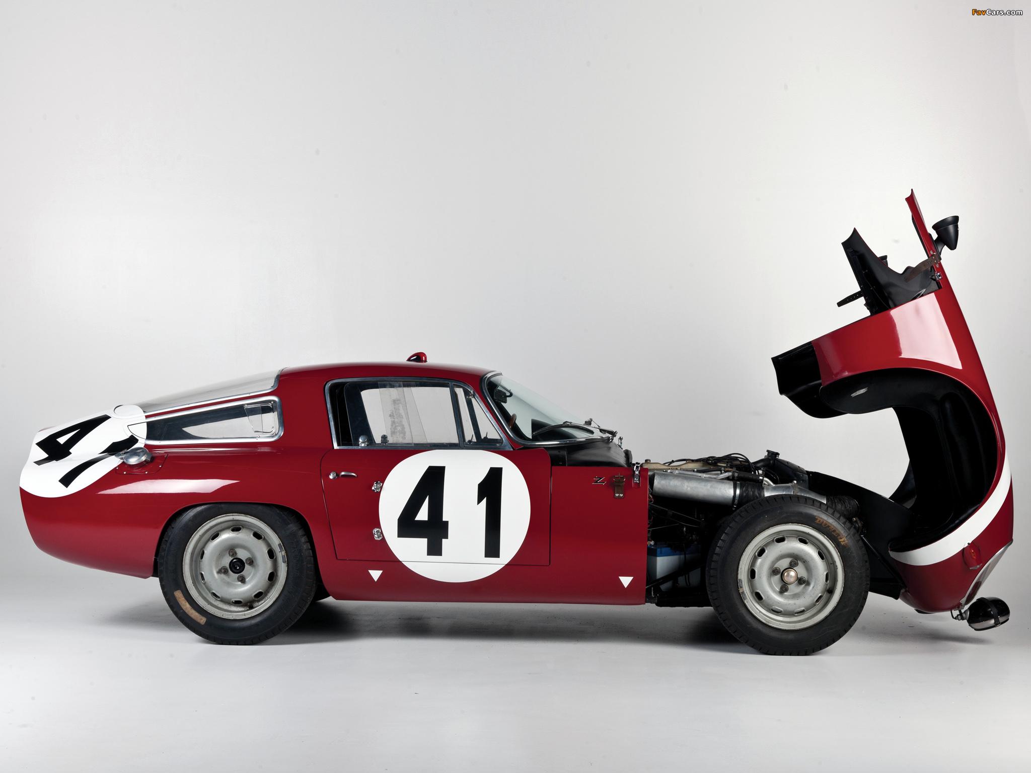 Images of Alfa Romeo Giulia TZ 105 (1963–1967) (2048 x 1536)