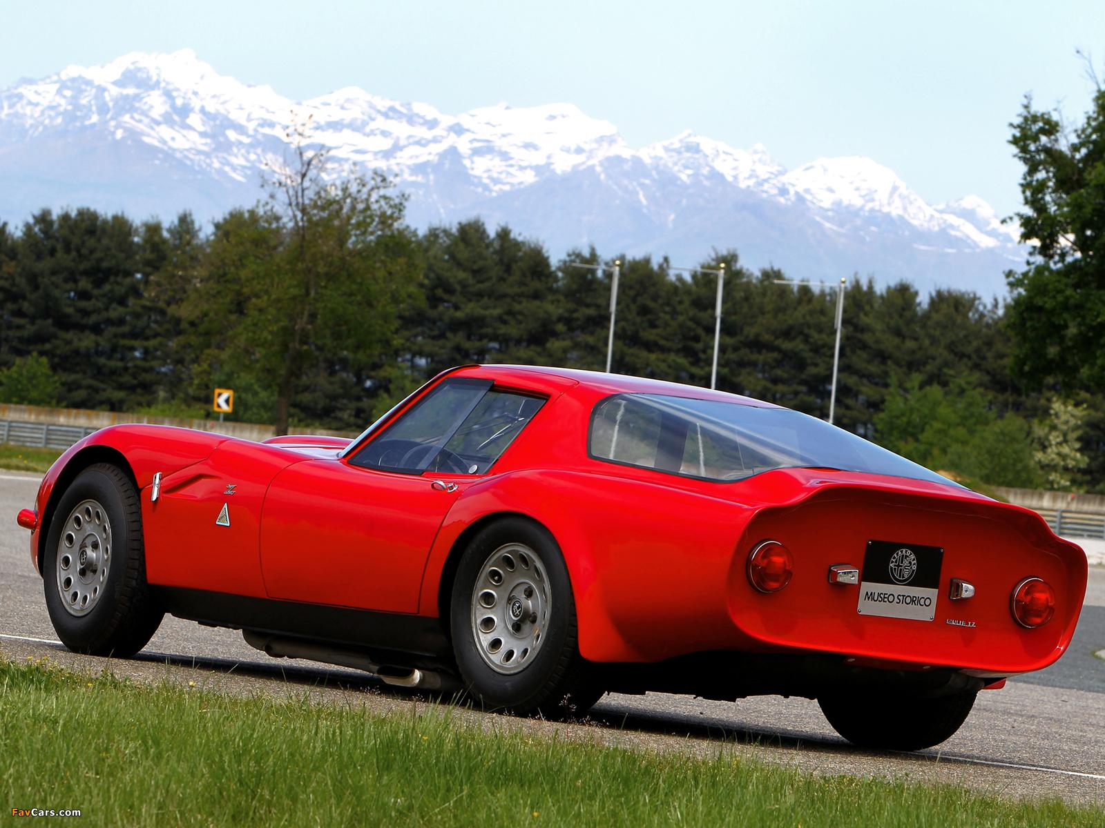Images of Alfa Romeo Giulia TZ2 105 (1965–1967) (1600x1200)