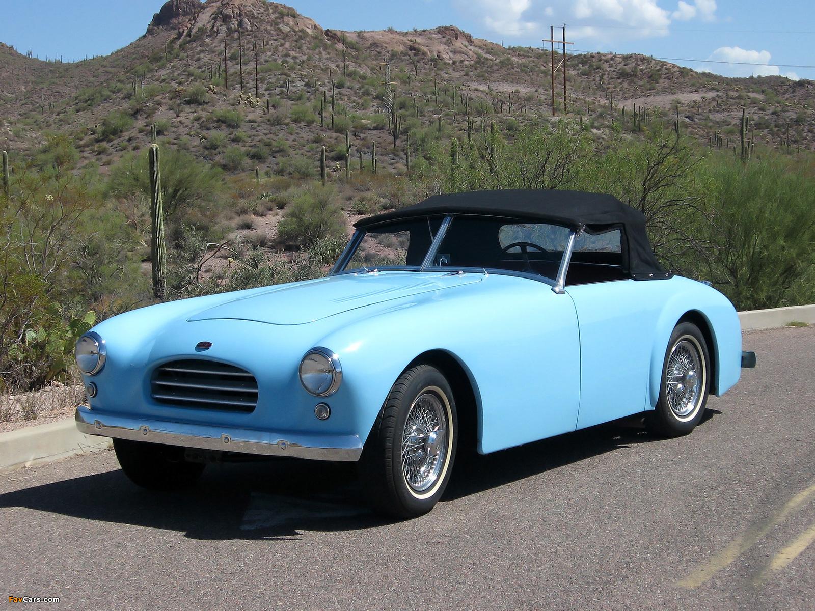 Allard K3 Roadster (1952–1954) wallpapers (1600 x 1200)