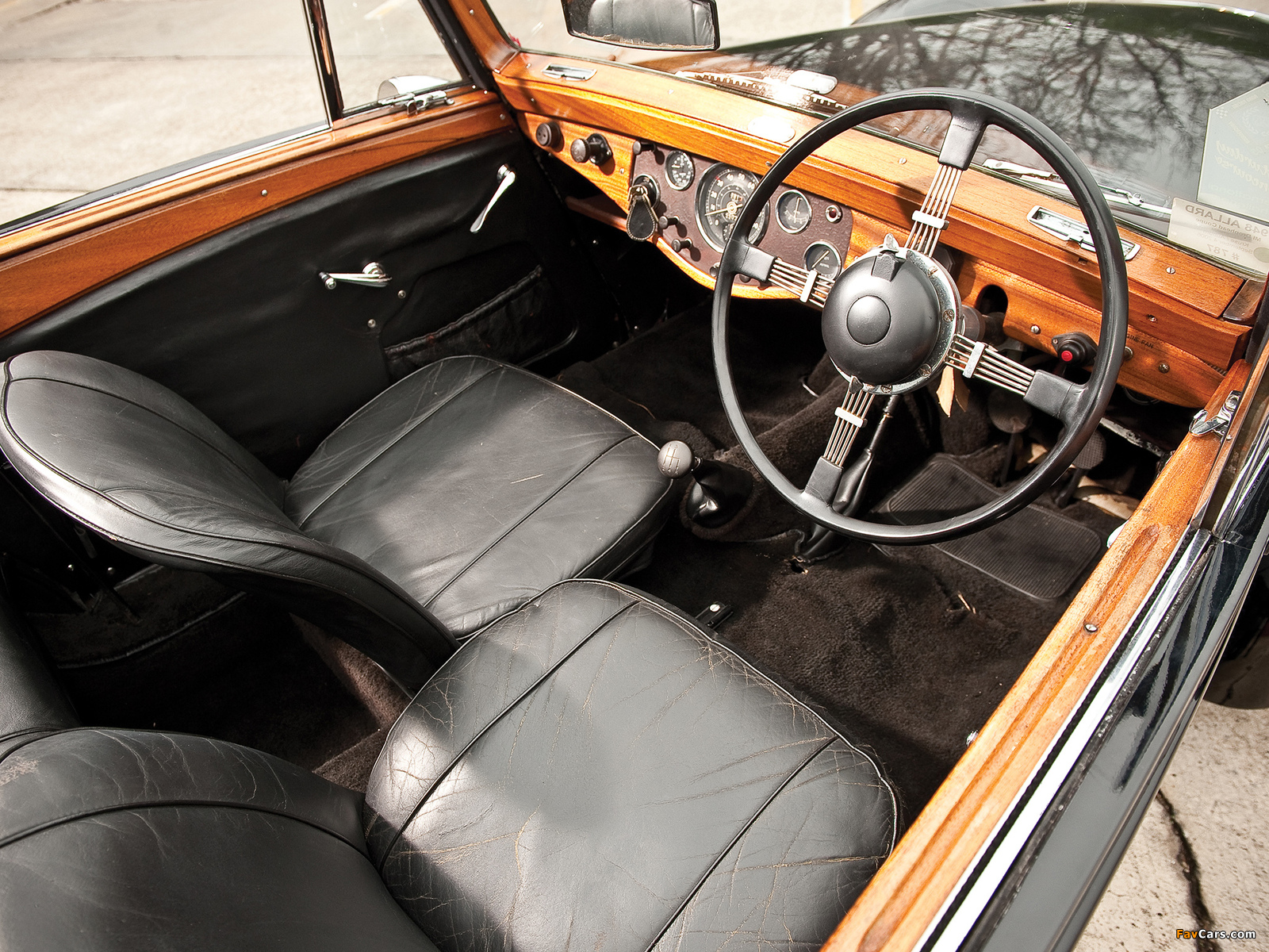 Allard M1 Drophead Coupe (1947–1950) wallpapers (1600 x 1200)