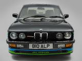 Photos of Alpina BMW B10 3.5 UK-spec (E28) 1985–87