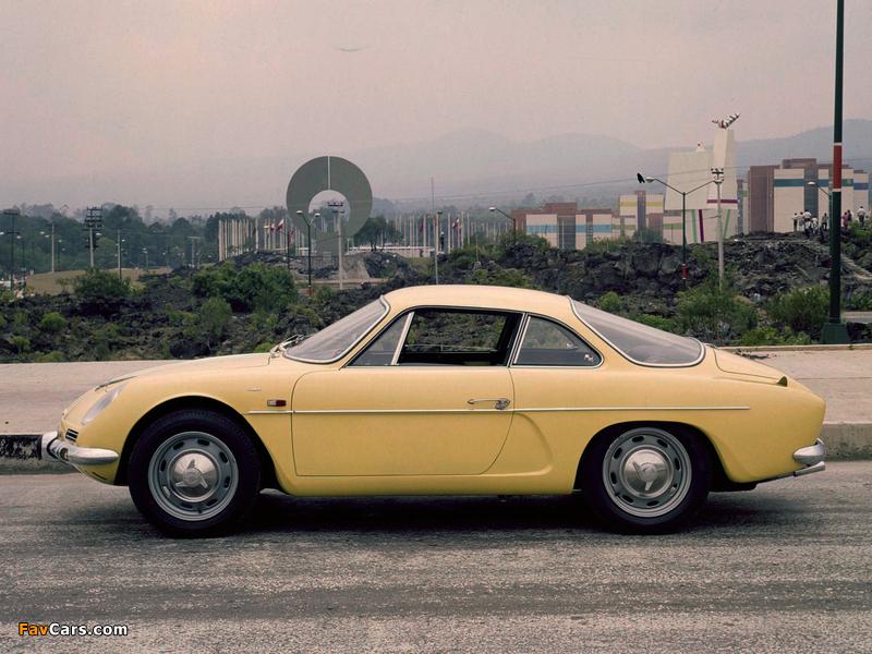 Renault Alpine A110 (1961–1977) photos (800 x 600)