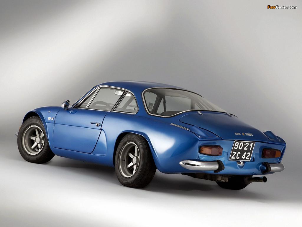 Renault Alpine A110 (1961–1977) photos (1024 x 768)