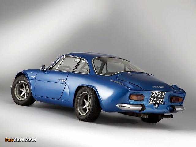 Renault Alpine A110 (1961–1977) photos (640 x 480)