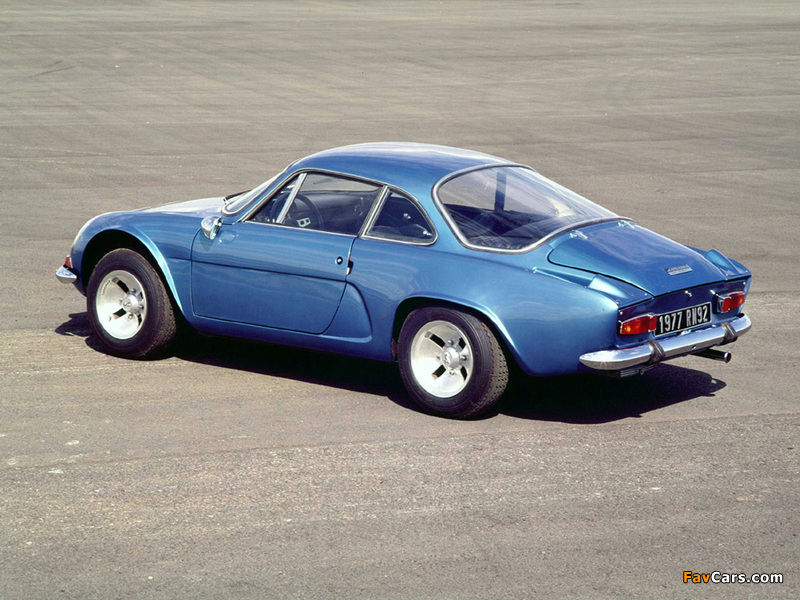 Renault Alpine A110 (1961–1977) pictures (800 x 600)