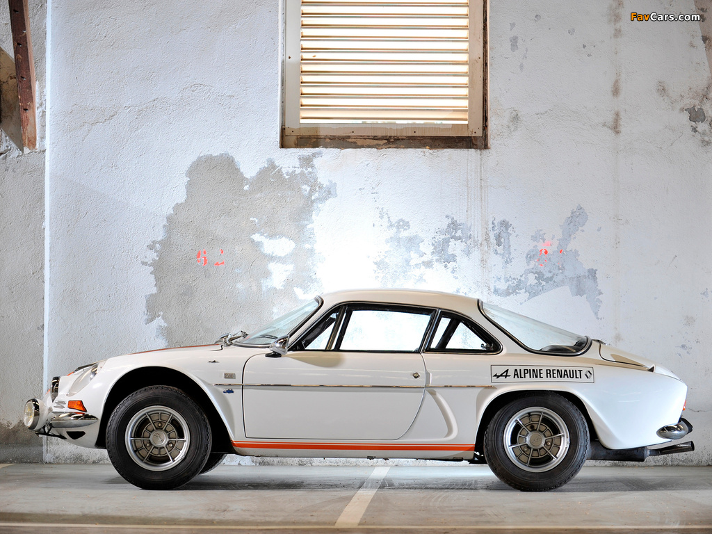 Renault Alpine A110 (1961–1977) pictures (1024 x 768)