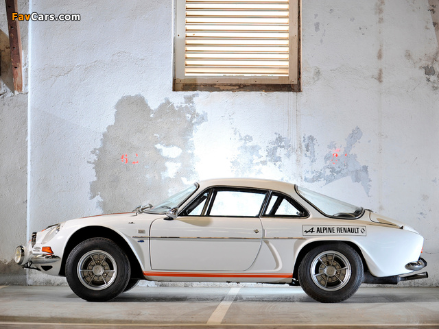 Renault Alpine A110 (1961–1977) pictures (640 x 480)