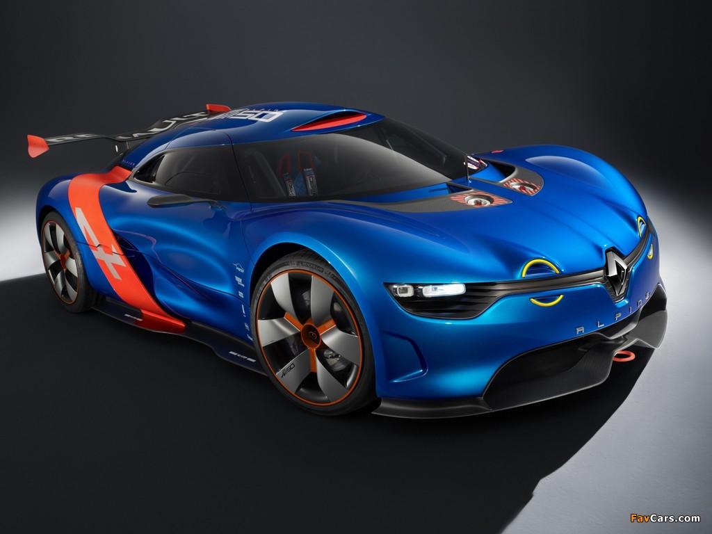 Renault Alpine A110-50 Concept 2012 images (1024 x 768)