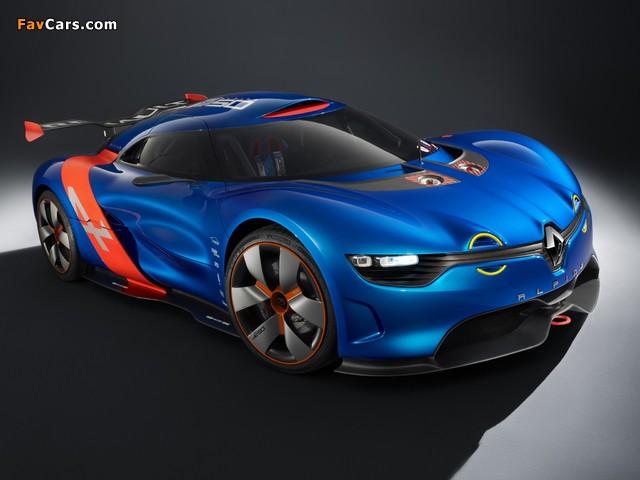 Renault Alpine A110-50 Concept 2012 images (640 x 480)