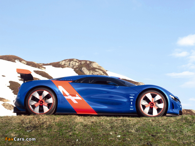 Images of Renault Alpine A110-50 Concept 2012 (640 x 480)