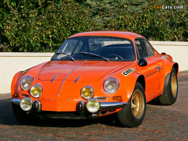 Photos of Renault Alpine A110 1600S Group 4 1970–75 (640 x 480)