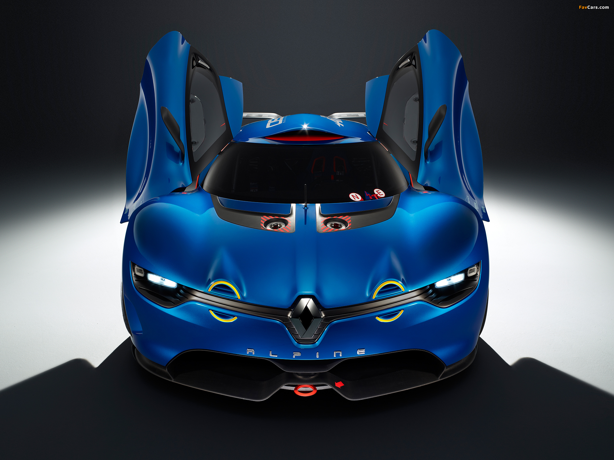 Photos of Renault Alpine A110-50 Concept 2012 (2048 x 1536)