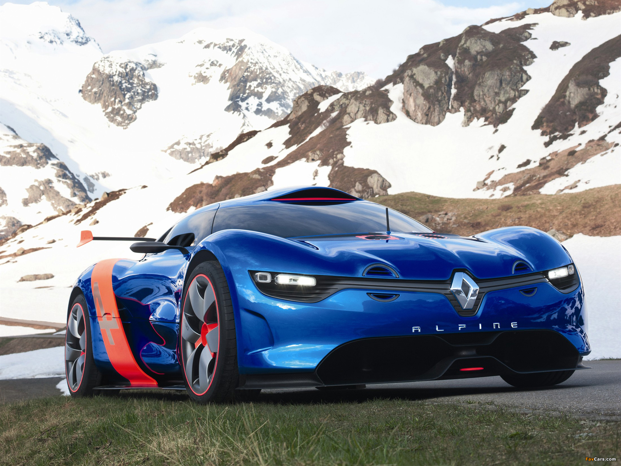 photos of renault alpine a110 50 concept 2012 2048x1536. Black Bedroom Furniture Sets. Home Design Ideas