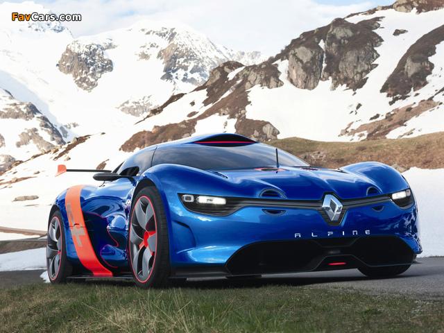 Photos of Renault Alpine A110-50 Concept 2012 (640 x 480)