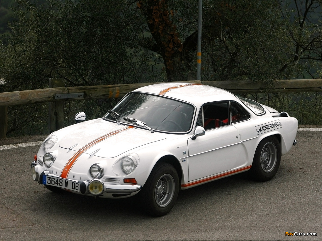 Pictures of Renault Alpine A110 (1961–1977) (1024 x 768)