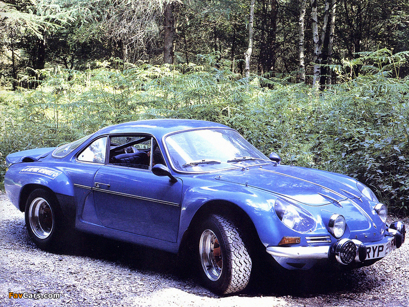 Renault Alpine A110 (1961–1977) wallpapers (800 x 600)