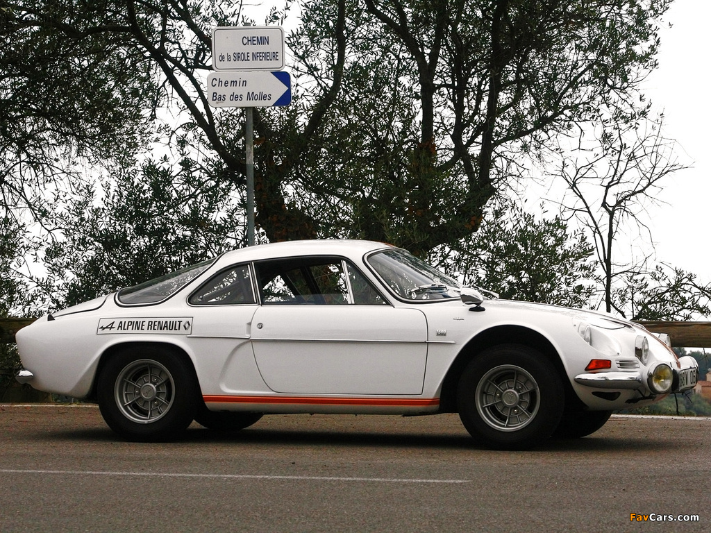 Renault Alpine A110 (1961–1977) wallpapers (1024 x 768)