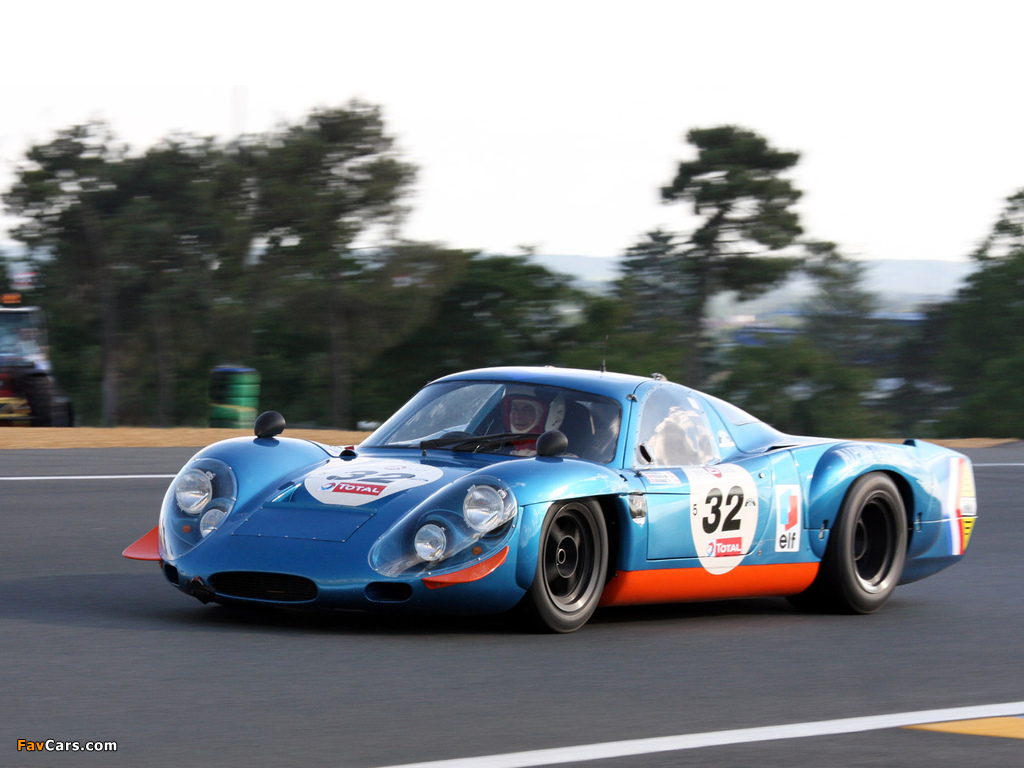 Renault Alpine A210 (1966–1969) wallpapers (1024 x 768)