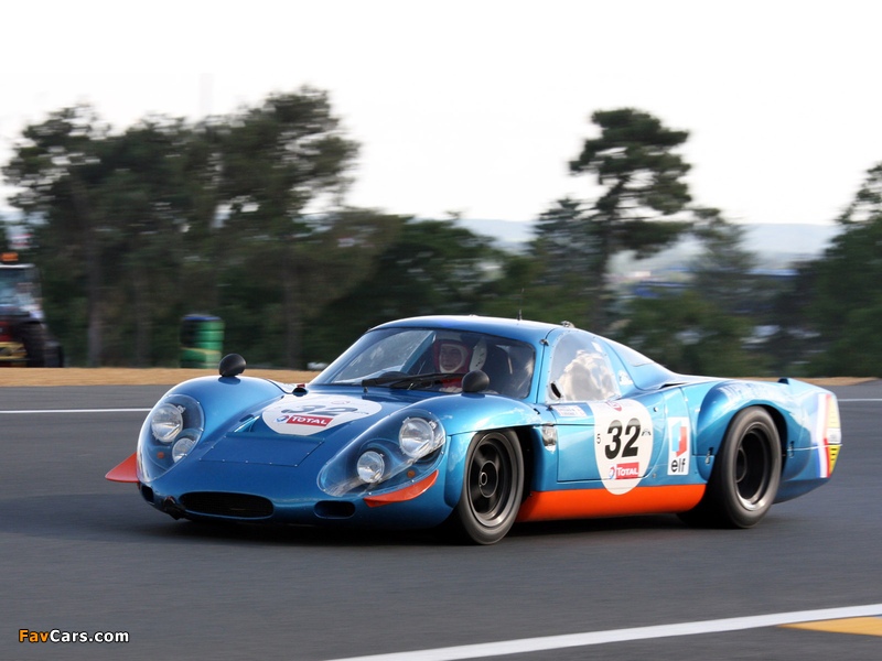 Renault Alpine A210 (1966–1969) wallpapers (800 x 600)