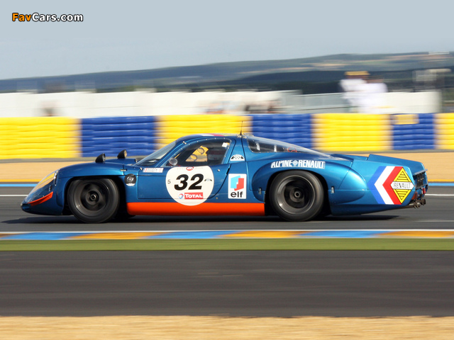 Renault Alpine A210 (1966–1969) wallpapers (640 x 480)