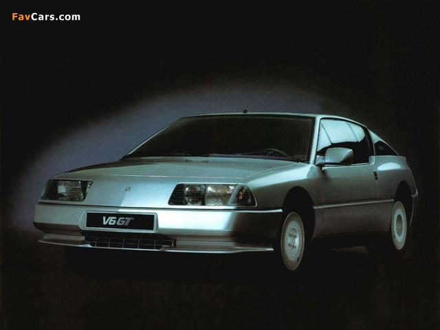 Renault Alpine GTA V6 GT (1985–1991) images (640 x 480)