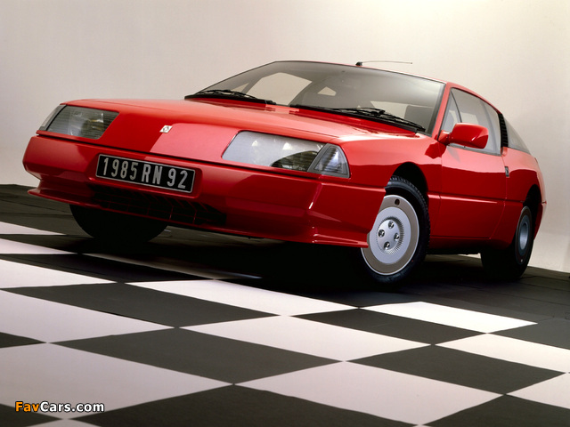Photos of Renault Alpine GTA V6 GT (1985–1991) (640 x 480)