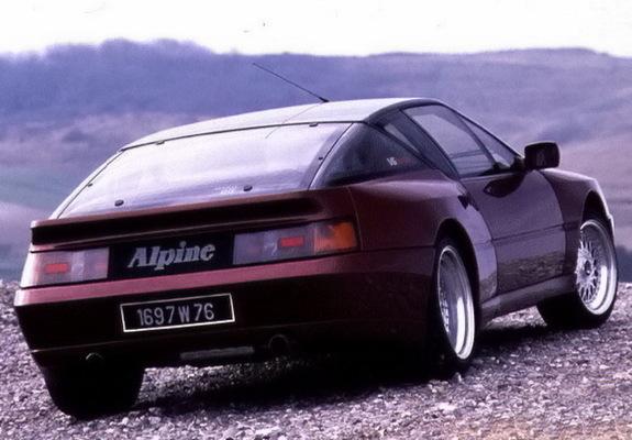 renault alpine gta v6 turbo le mans 1990 wallpapers. Black Bedroom Furniture Sets. Home Design Ideas