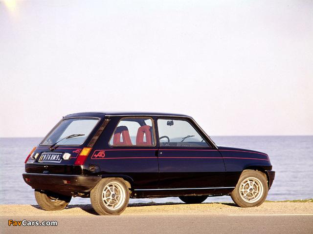 Renault 5 Alpine (1976–1981) images (640 x 480)