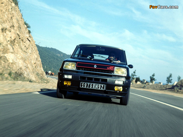 Pictures of Renault 5 Alpine (1976–1981) (640 x 480)