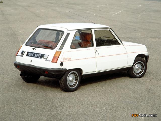 Pictures of Renault 5 Alpine Turbo (1982–1984) (640 x 480)