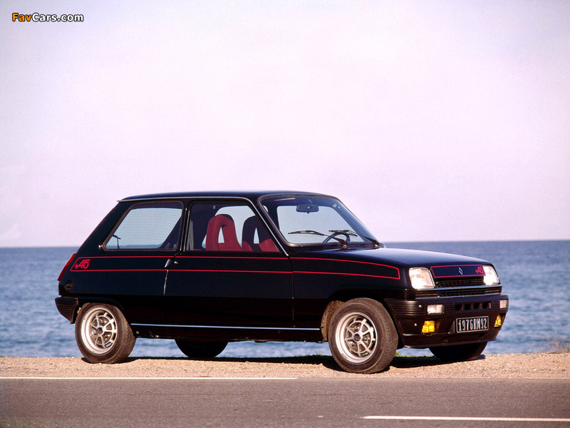 Renault 5 Alpine (1976–1981) wallpapers (800 x 600)