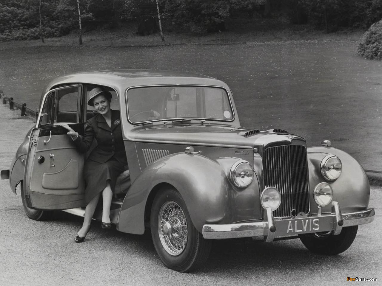 Alvis TC21/100 (1953–1955) pictures (1280 x 960)