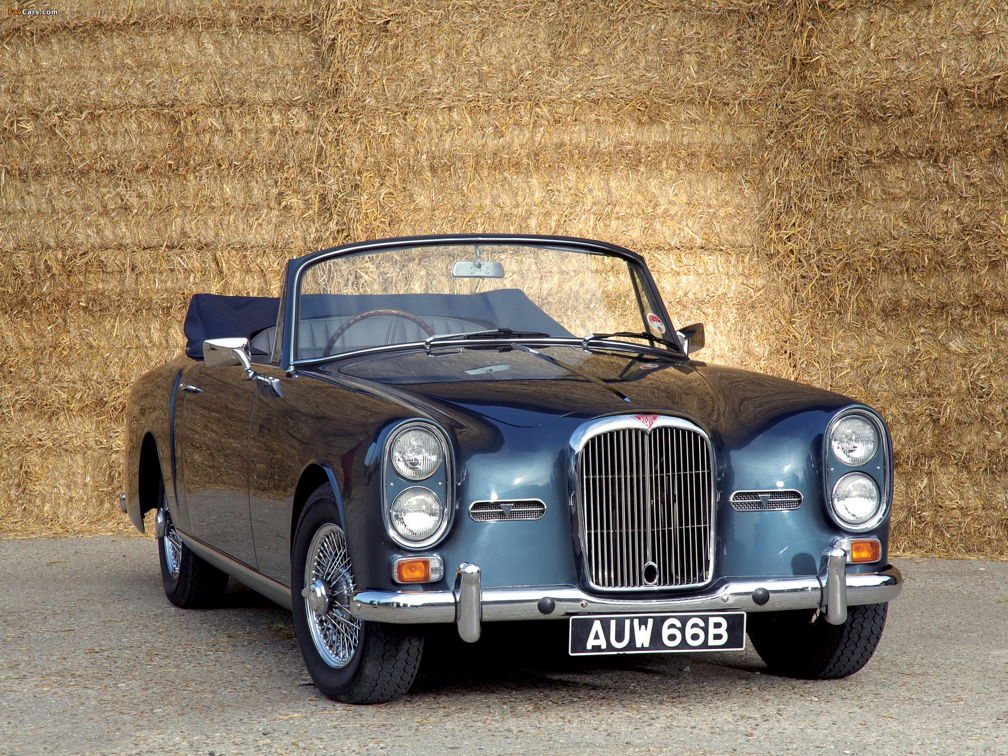 Photos of Alvis TE21 Drophead Coupe (1964) (2048 x 1536)