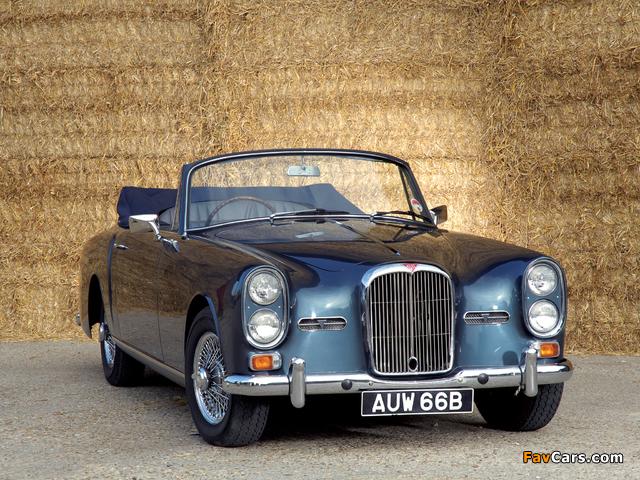 Photos of Alvis TE21 Drophead Coupe (1964) (640 x 480)