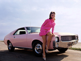 AMC AMX Playmate Pink 1969 pictures