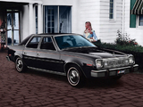 AMC Concord D/L 4-door Sedan 1978 photos
