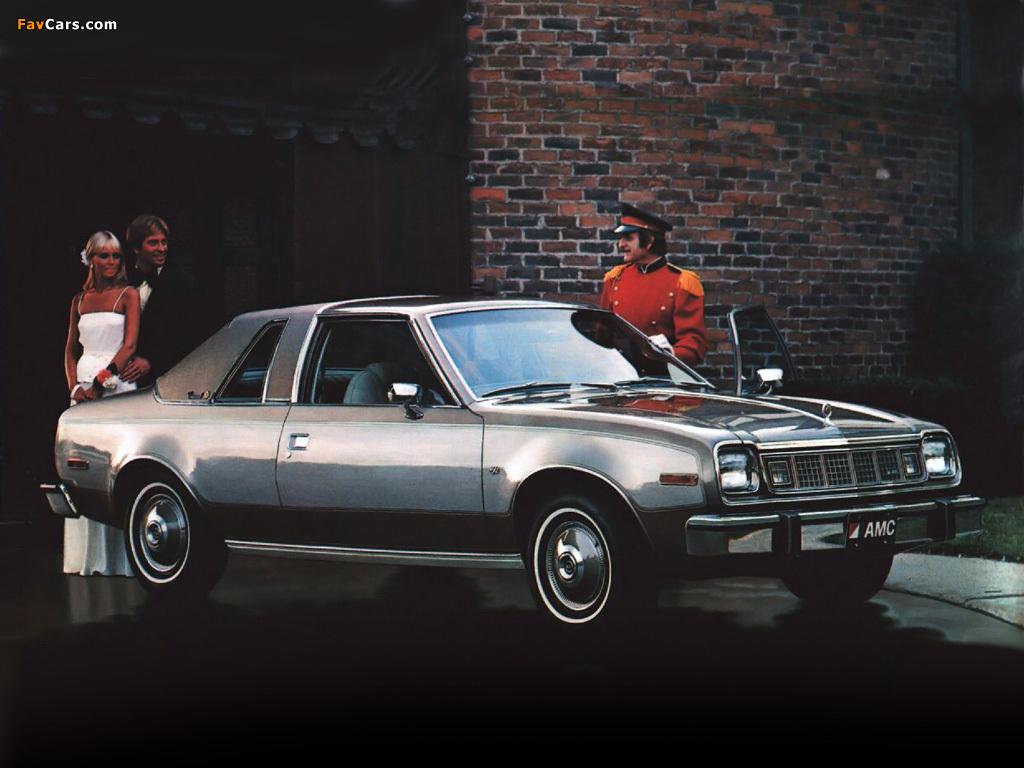 AMC Concord 2-door Sedan 1978 pictures (1024 x 768)