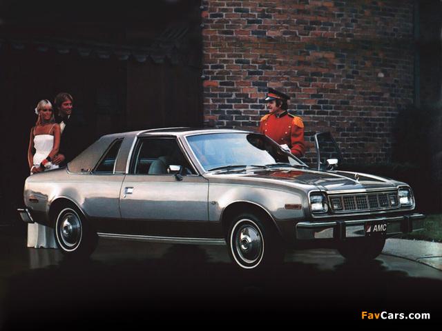 AMC Concord 2-door Sedan 1978 pictures (640 x 480)