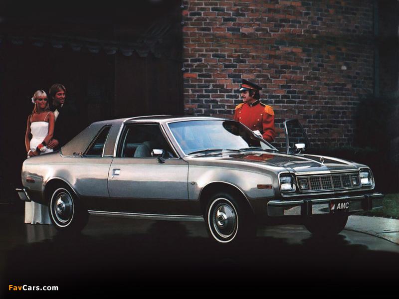 AMC Concord 2-door Sedan 1978 pictures (800 x 600)