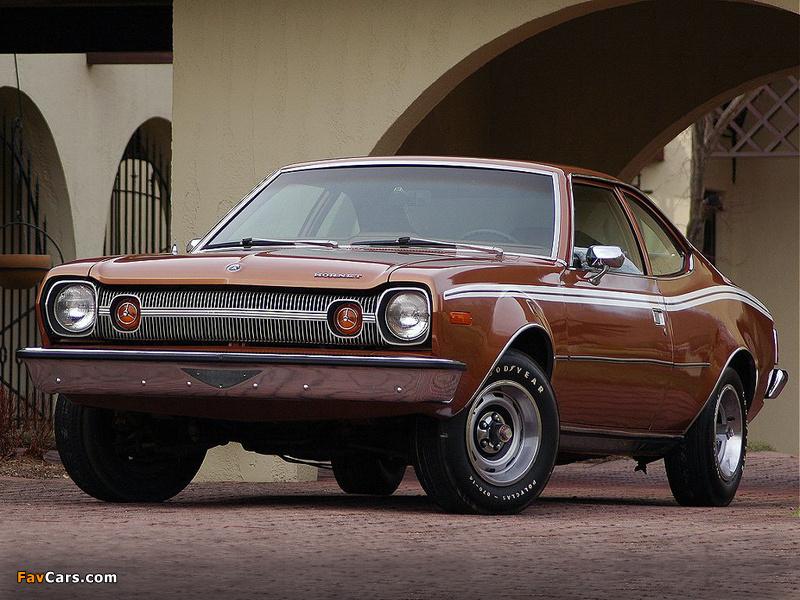 AMC Hornet Hatchback 1973 wallpapers (800 x 600)