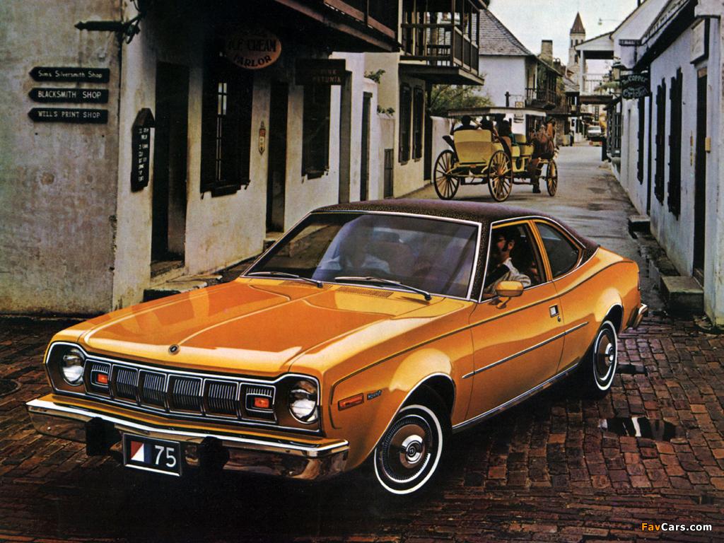 AMC Hornet Hatchback 1975–77 wallpapers (1024 x 768)