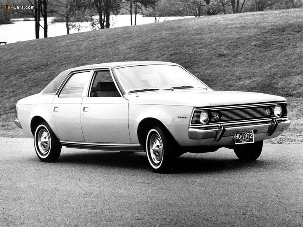 Photos of AMC Hornet SST Sedan 1970–72 (1024 x 768)