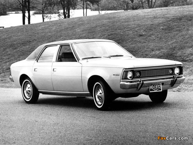 Photos of AMC Hornet SST Sedan 1970–72 (640 x 480)
